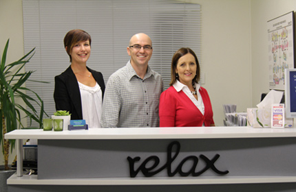 North Brisbane Chiropractor Dr David Malone with team